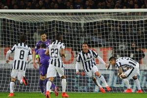 Soccer: Italy Cup; Fiorentina-Juventus